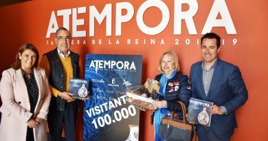ATÉMPORA TALAVERA RECIBE AL VISITANTE 100.000