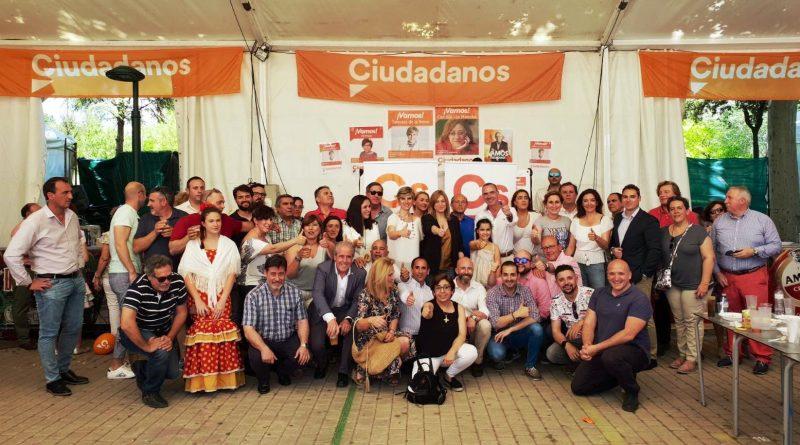 LAS CANDIDATAS DE CIUDADANOS PARA PRESIDIR TALAVERA Y LA JUNTA, EN LA FERIA
