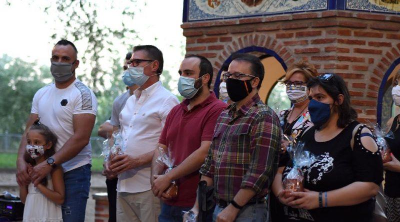 EL RECONOCIMIENTO A LA CADENA SOLIDARIA EN TALAVERA (FOTOS)