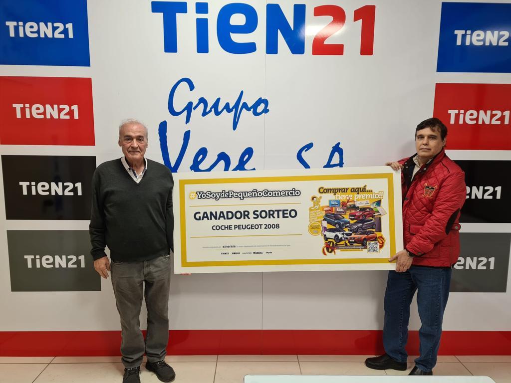 Juan Gómez y Dámaso Gómez, gerentes de Grupo Vere 85